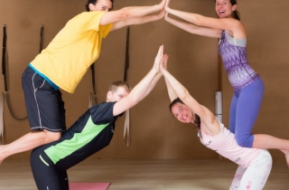 Workshop Acro Yoga s Jacobem